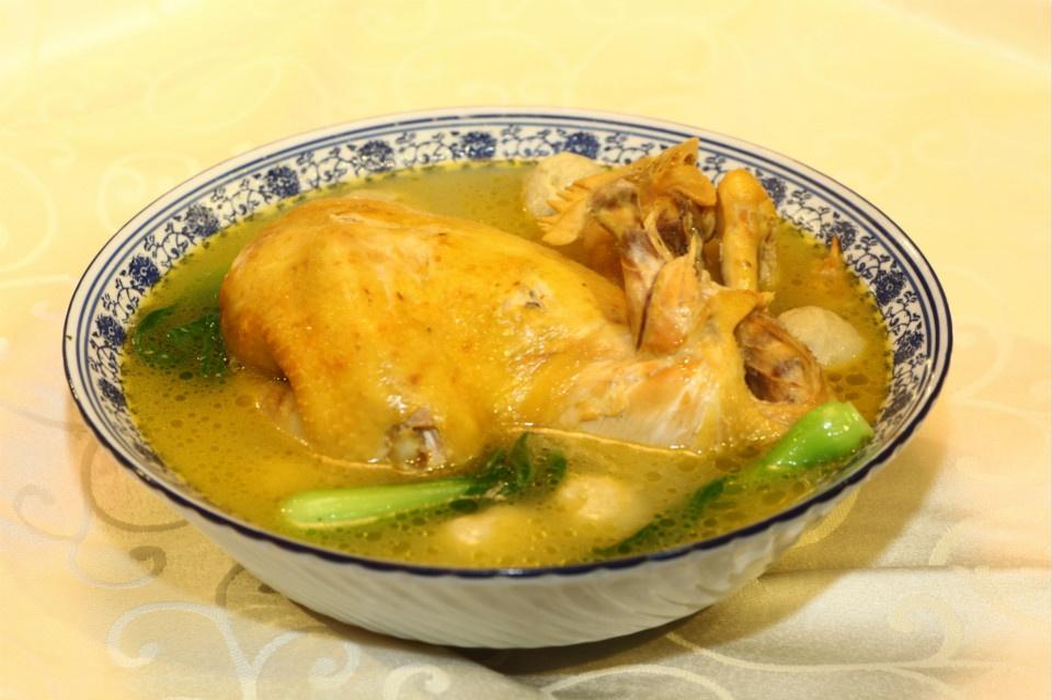 草鸡三味圆汤